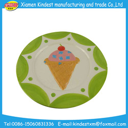 ceramic tableware porcelain plates and dishes for icecream or desserts