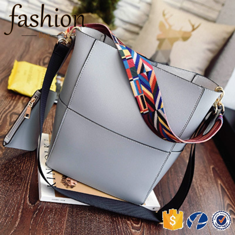 CR Factory OEM support new fashion ladies large capacity shoulder bag with scarf belt new arrival leather satchel womens