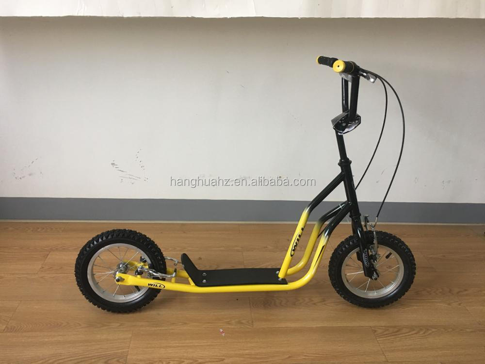 12inch scooter bike kick scooter bike kids bicycle for 5-7years old