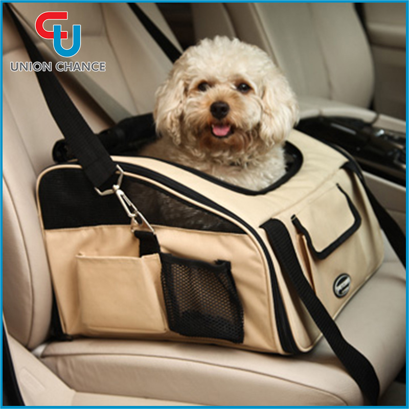 Car Hanging Pet Carrier Bag Car Seat Pet Carrier Bag Pet Car Booster Seat Carrier Bag