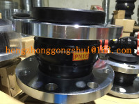 DIN/ANSI double flange rubber expansion joint ,304,316flange