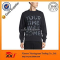 Custom dye sublimation printing stylish sweatshirts for men