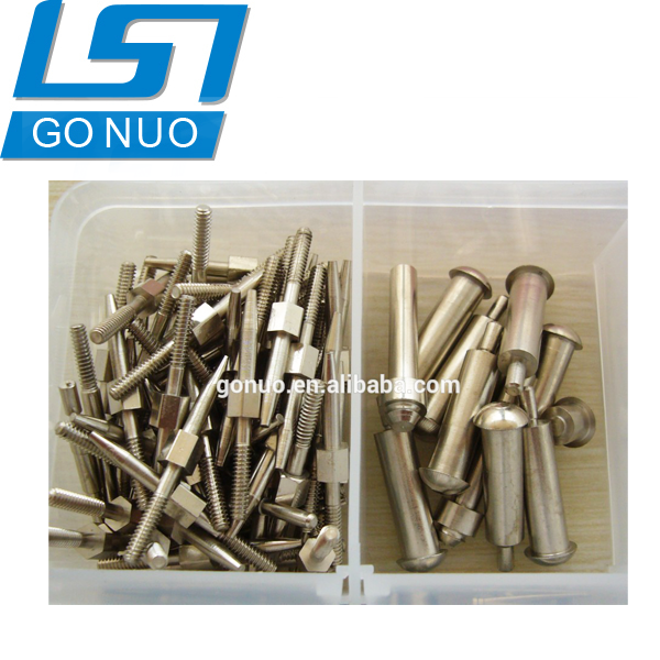 China suppliers fastener manufacture stainless steel cnc nut bolt making machine