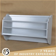 gray finish bookcase function mdf art craft magazine rack metal