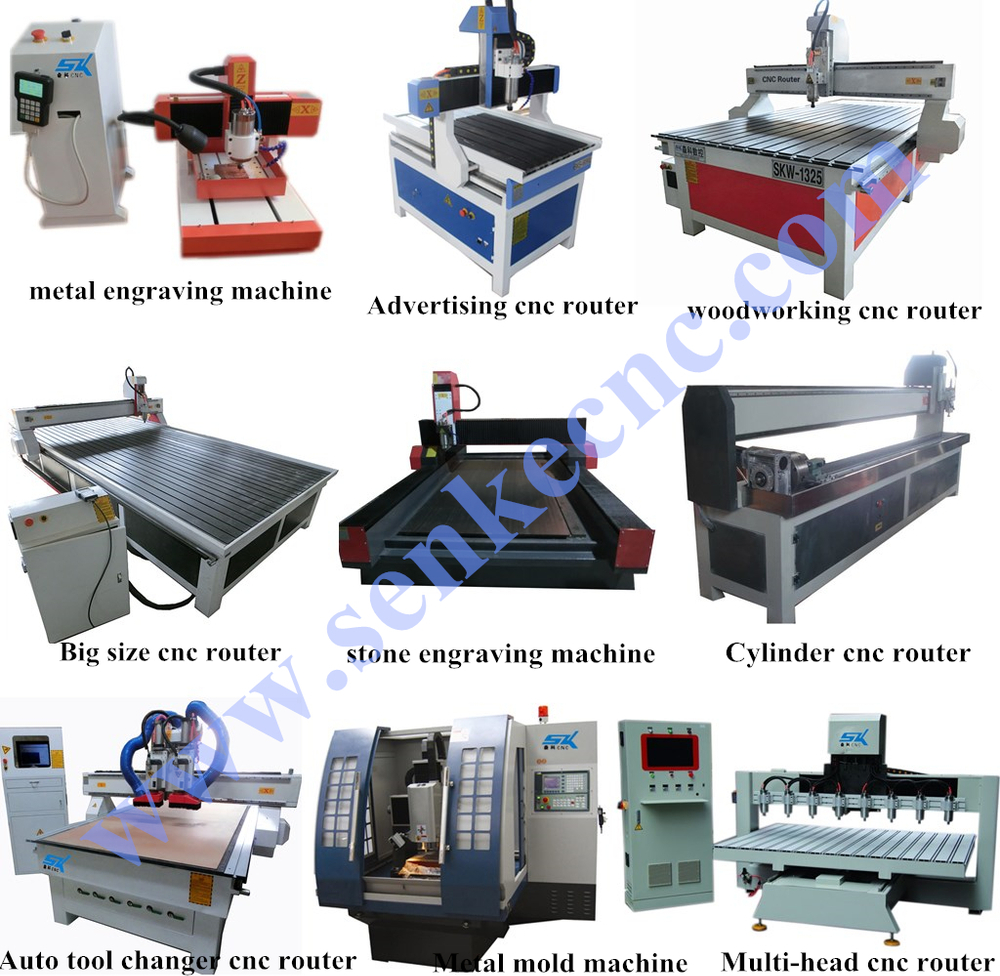 Woodworking machinery metal aluminum steel cutting machine door furniture 1325 rotary 4 axis cnc wood engraving machine
