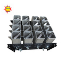 happiness 2 inch 16 shots aluminium alloy fireworks mortars tubes display racks