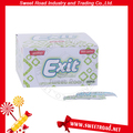 Exit Sugarfree Chewing Gum Brands