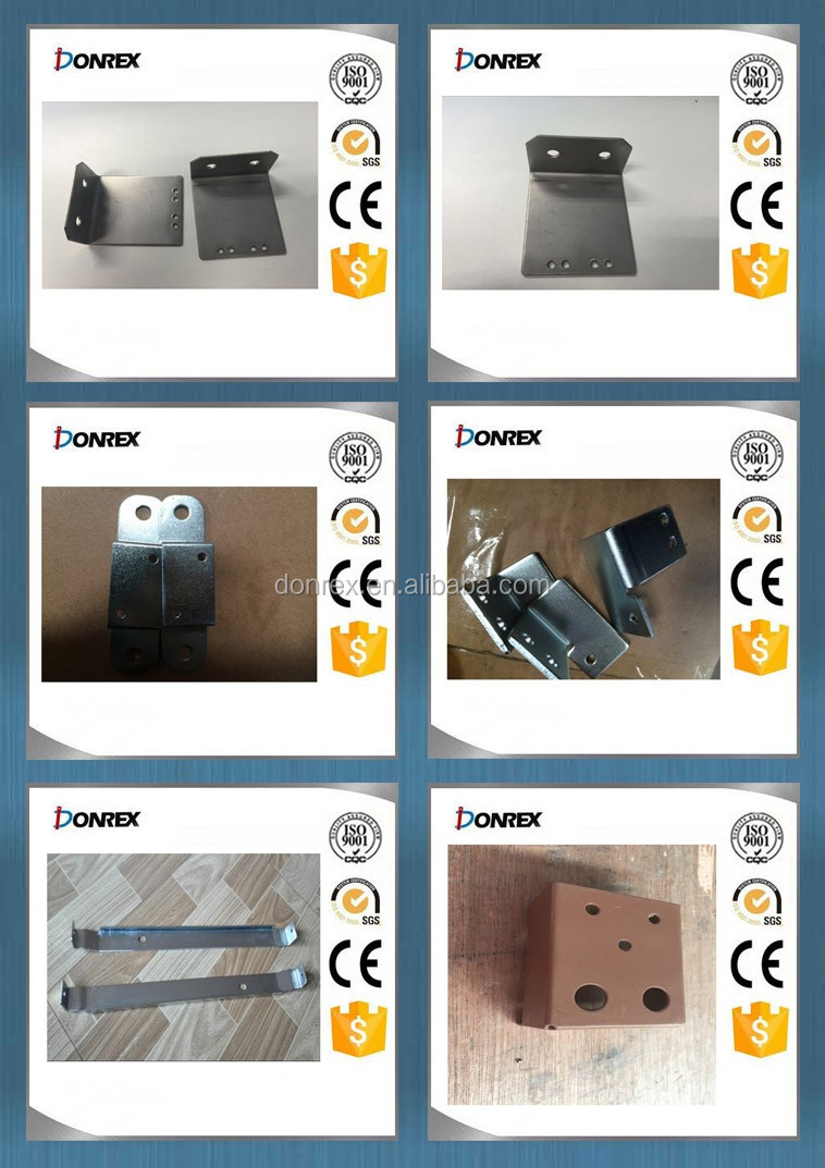 Zinc plated stamping and cutting steel sheet with holes