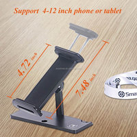 Smatree Adjustable Aluminum Tablet Clamp Holder