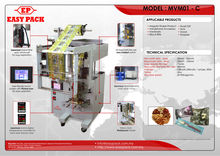 Phone accessories Packing Vertical Fill and Seal Packaging Machine