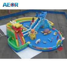 dargon inflatable water park/indoor water parks/inflatable commercial water park