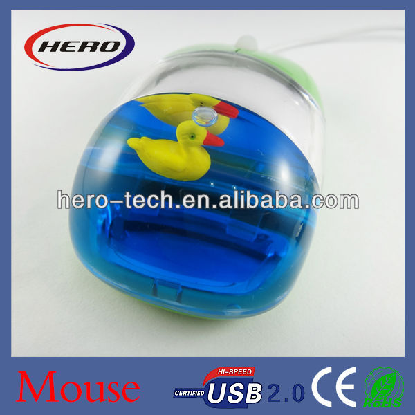 usb liquid gift mouse
