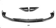 E-Class W213 Pure Carbon fiber Front Fender Vents Covers for Mercedes W213 Sedan 4-Door 16-17
