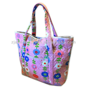 SF070942 quilting mummy bag diaper bag