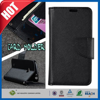 C&T New 2015 wallet PU leather stand flip cover for lenovo a269i