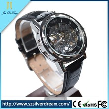 Military Stainless Steel Make Your Own Logo genunie leather genunie leather Watch