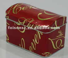 custom food packaging chest tin box