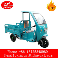Cargo Use Besat Selling Three Wheel Battery Electric Motorcycle / Truck Vehicle For Sale