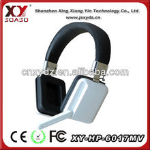 stylish stereo gaming headphones computer earphone earpiece with Mic volume control talk