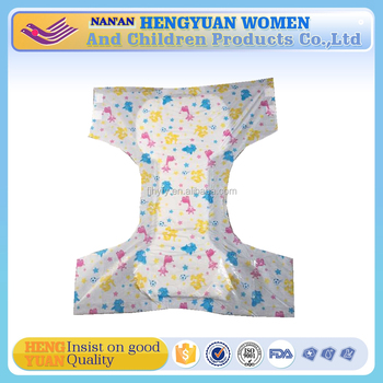 Soft absorbency new style baby printed adult diaper