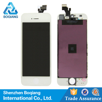 Top quality Mobile phone lcd for iphone 5,for iphone 5 lcd digitizer, for iphone 5 touch screen