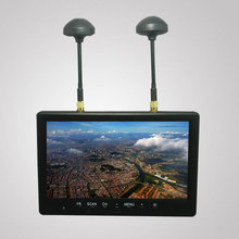 HIEE 5.8ghz diversity no blue screen 7 inch fpv hd OSD monitor