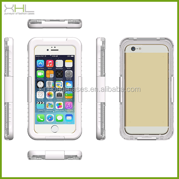 New Design Water Proof Case For Iphone6,High Quality Water Proof Phone Case ,For Iphone 6 Water Proof Case