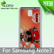 Sublimation TPU 2in1 cell phone Case for Samsung Note 3
