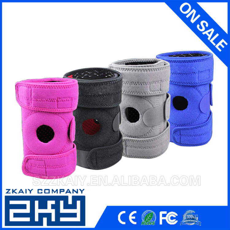 Adjustable Knee Patella Support Brace Sleeve Wrap Cap Stabilizer Sports Knee Care Portable
