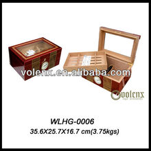 Shining Lacquer Wood Humidor/Box/Holder For Cigars