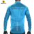 Monton blue cycling windproof and waterproof jersey