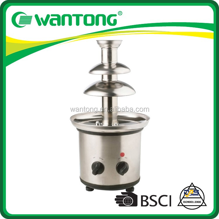 Wantong Over 14 years experience Wholesale As Seen On TV Stainless Steel Chocolate Fountain For Wedding Reception