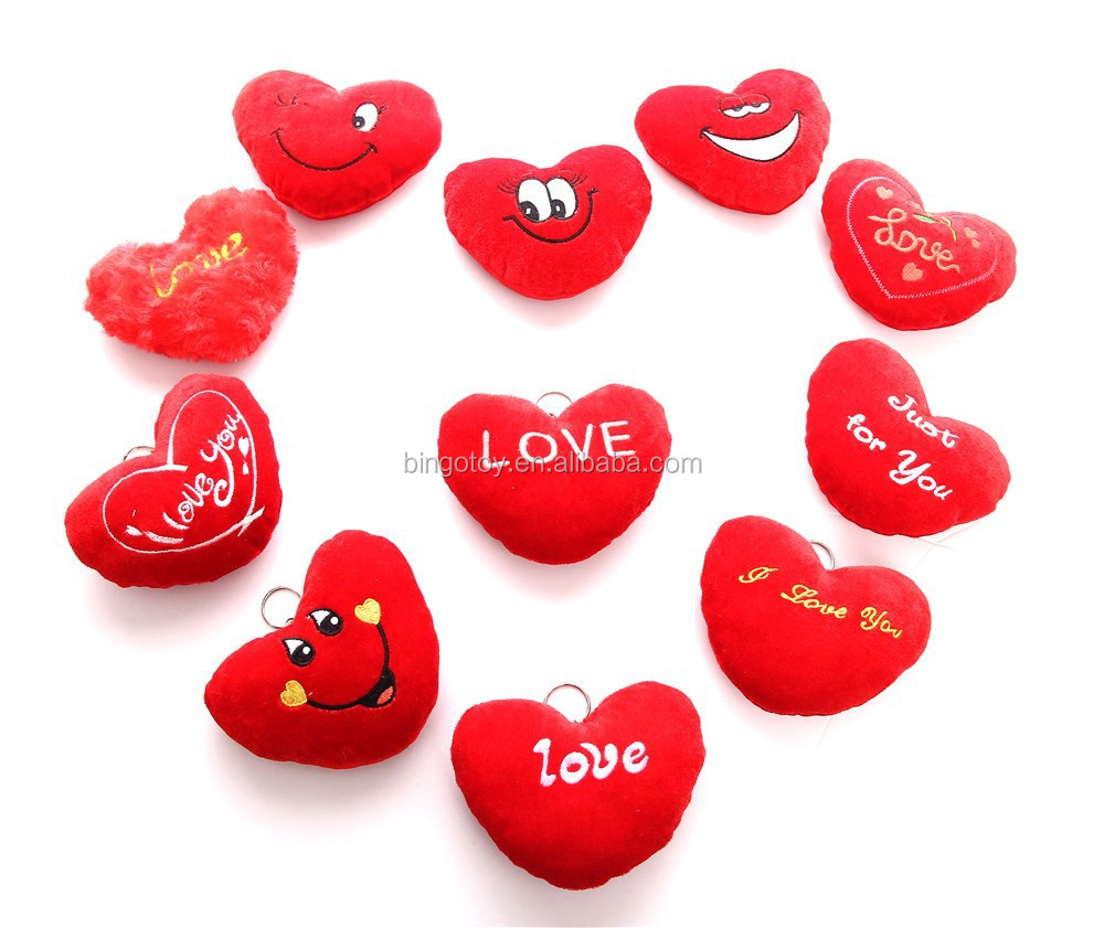 Toys For Love : Valentine s day gift love keychain heart plush toys buy