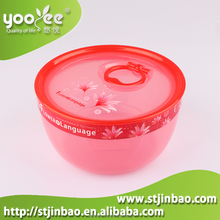 Microwave Commercial Plastic Food Containers with Lid