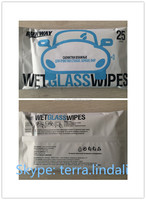 Highly Quality Add Special detergent single pack refreshing wet wipes Tissues for Car and Leather