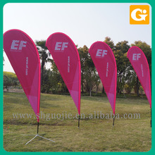 600D International Polyester Fabric Flag