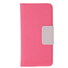 Flip Leather Wallet Case Textured Grain Pouch Stand Magnetic for Apple iPhone 6