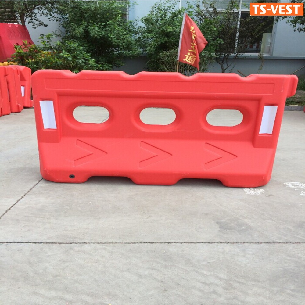 Road Base Road Safety Traffic Plastic Barrier, Jersey Barrier