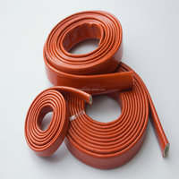 Fire insulation sleeve for auto fuel line protection