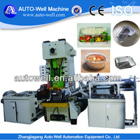 Aluminium Foil Container for Soup Away Press Machine