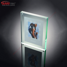 wholesale acrylic photo picture frame display acrylic magnetic photo block