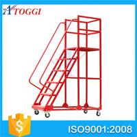 3 meters platform step ladders for supermarket