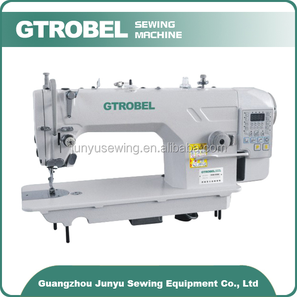 sewing machine with automatic thread cutter