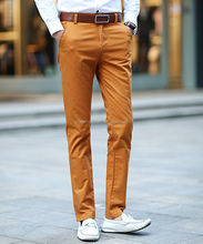 Super September Custom Cotton Casual Long Trousers Wholesale men trousers models Blank