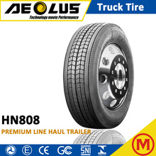 AEOLUS Windpower HN808 Best Chinese brand 295/75R 22.5 285/75R24.5 Long distance TBR Tyres Radial Trailer Truck Tire