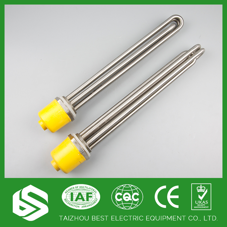 Good quality SS304 480V 6KW ce certified immersion screw plug heaters