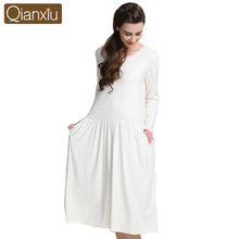 Qianxiu the best selling factory price outlets nightgown