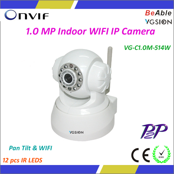 1.0 Megapixel PTZ IP Camera Wifi Maginon IP Camera