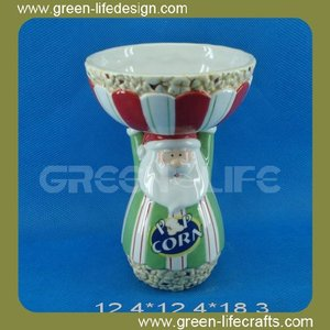 New product santa design popcorn bowl