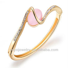 Woman Classic gold filled gold pictures bangle